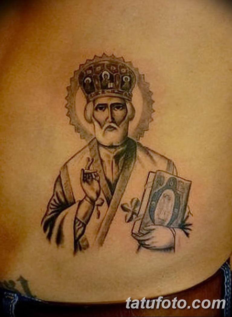 Фото тату икона святого 29.06.2019 №157 - tattoo icon of saint - tatufoto.com