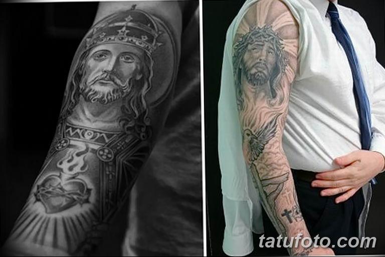 Фото тату икона святого 29.06.2019 №158 - tattoo icon of saint - tatufoto.com