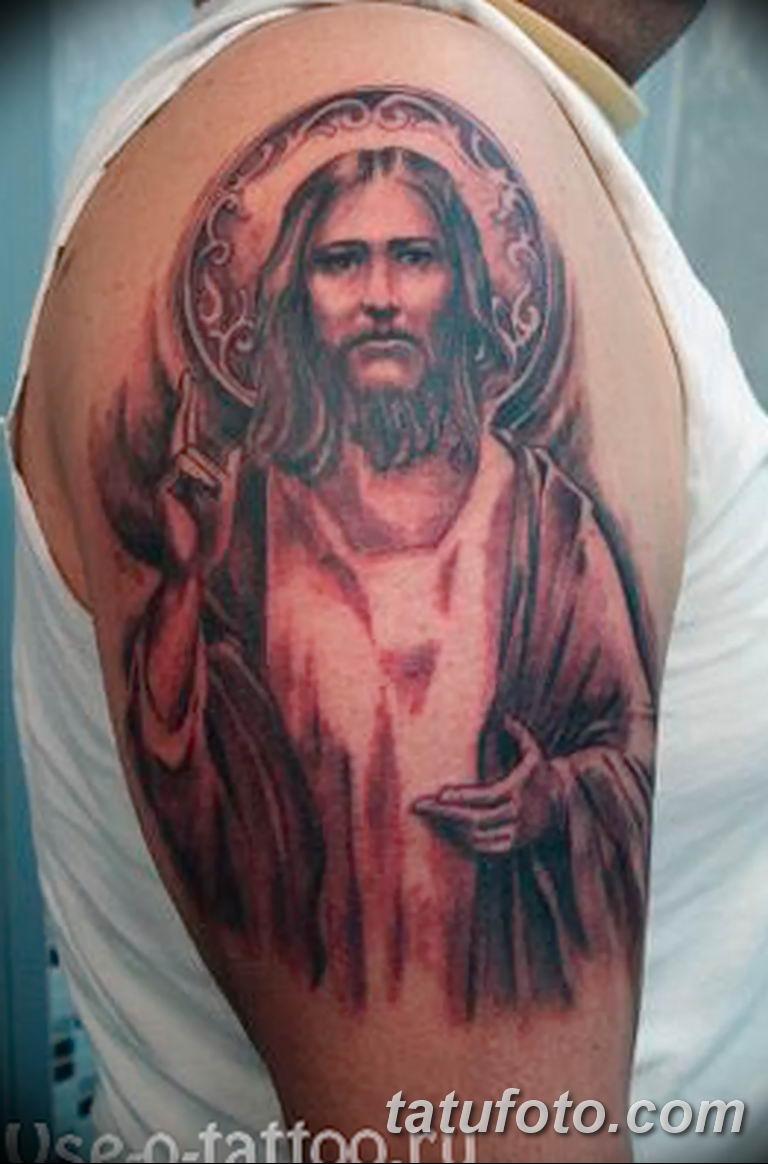 Фото тату икона святого 29.06.2019 №159 - tattoo icon of saint - tatufoto.com