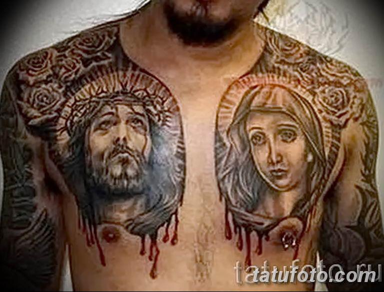 Фото тату икона святого 29.06.2019 №160 - tattoo icon of saint - tatufoto.com