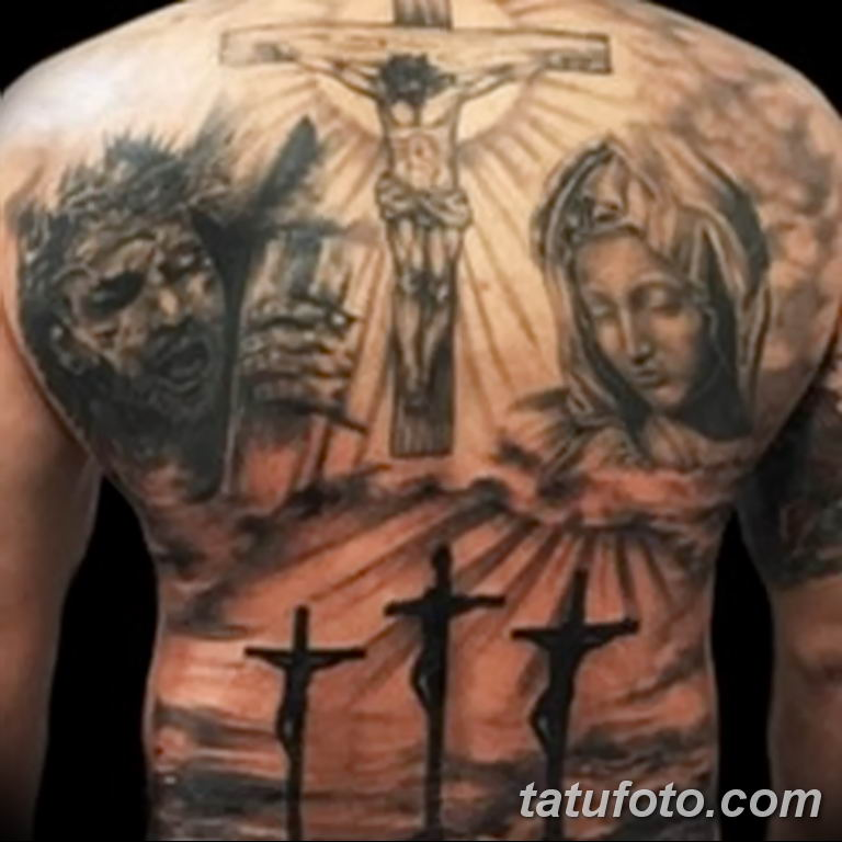 Фото тату икона святого 29.06.2019 №163 - tattoo icon of saint - tatufoto.com