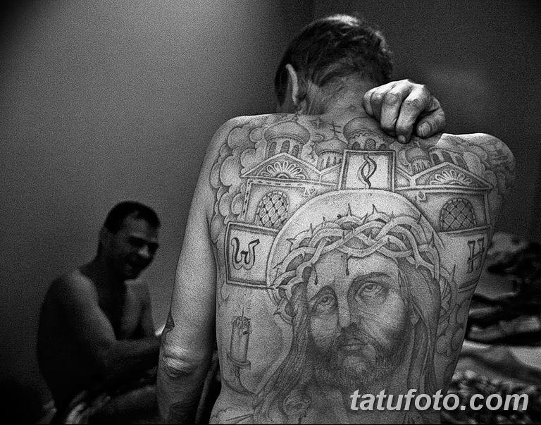Фото тату икона святого 29.06.2019 №164 - tattoo icon of saint - tatufoto.com