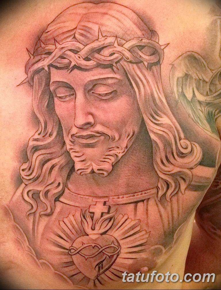 Фото тату икона святого 29.06.2019 №168 - tattoo icon of saint - tatufoto.com