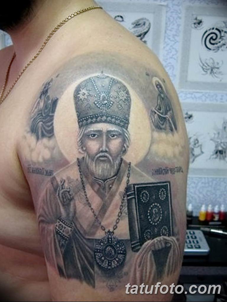 Фото тату икона святого 29.06.2019 №170 - tattoo icon of saint - tatufoto.com