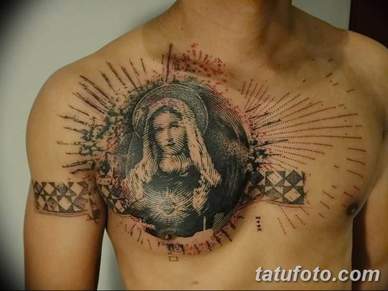 Фото тату икона святого 29.06.2019 №171 - tattoo icon of saint - tatufoto.com
