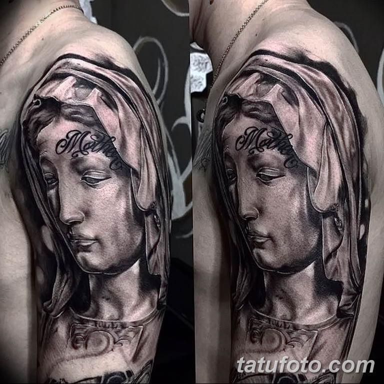 Фото тату икона святого 29.06.2019 №174 - tattoo icon of saint - tatufoto.com