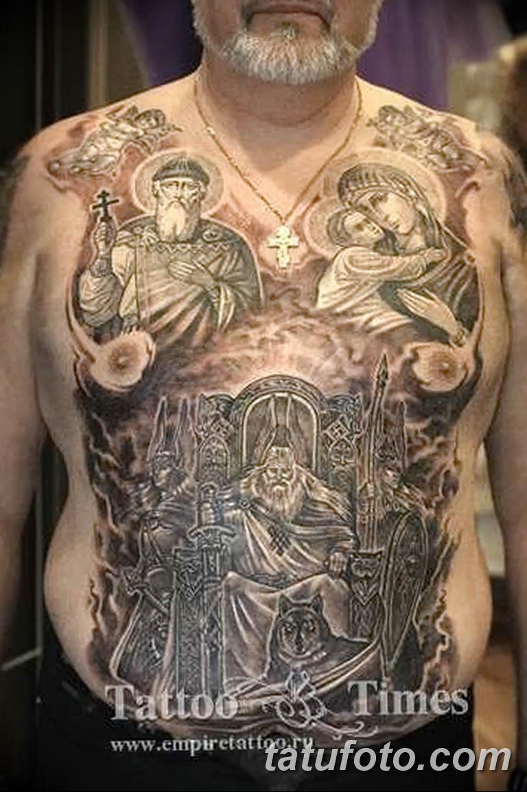 Фото тату икона святого 29.06.2019 №175 - tattoo icon of saint - tatufoto.com