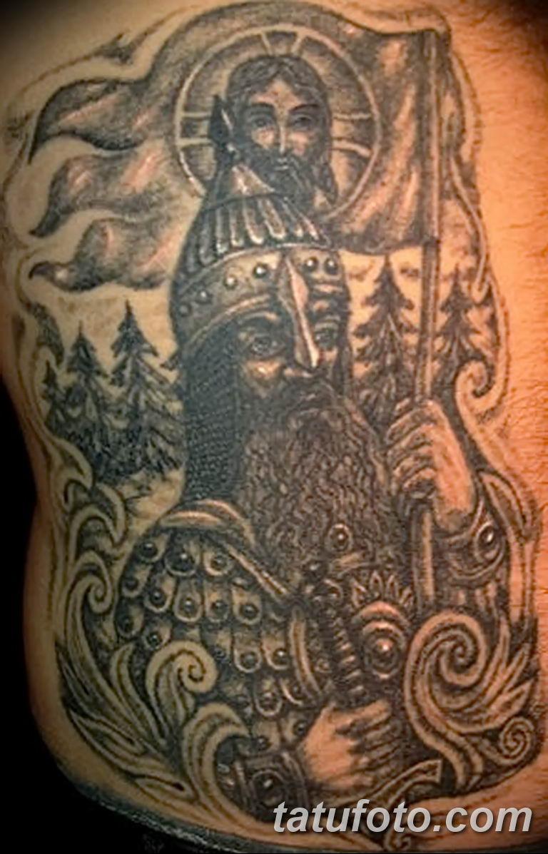 Фото тату икона святого 29.06.2019 №177 - tattoo icon of saint - tatufoto.com