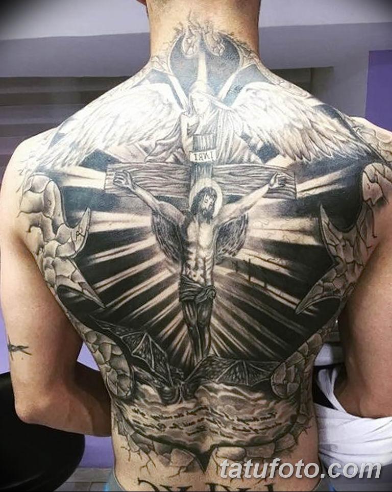 Фото тату икона святого 29.06.2019 №178 - tattoo icon of saint - tatufoto.com