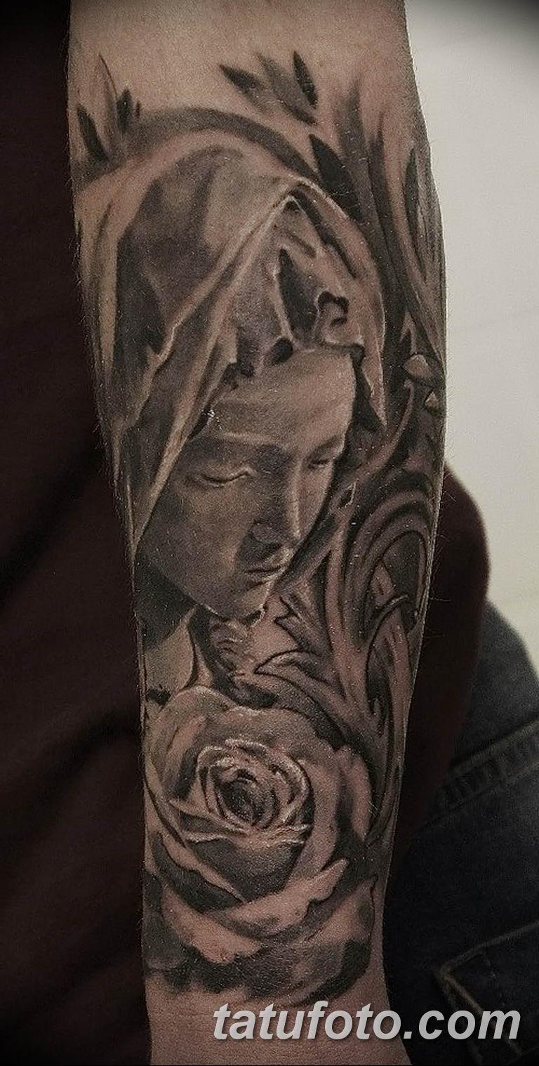 Фото тату икона святого 29.06.2019 №180 - tattoo icon of saint - tatufoto.com