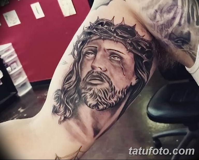 Фото тату икона святого 29.06.2019 №181 - tattoo icon of saint - tatufoto.com