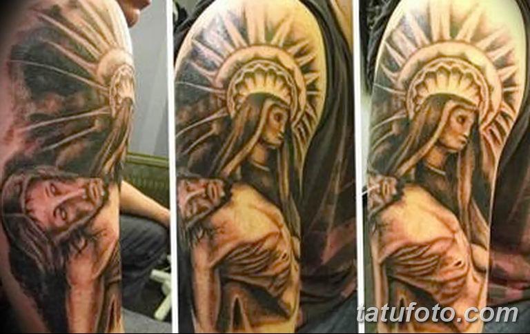 Фото тату икона святого 29.06.2019 №187 - tattoo icon of saint - tatufoto.com