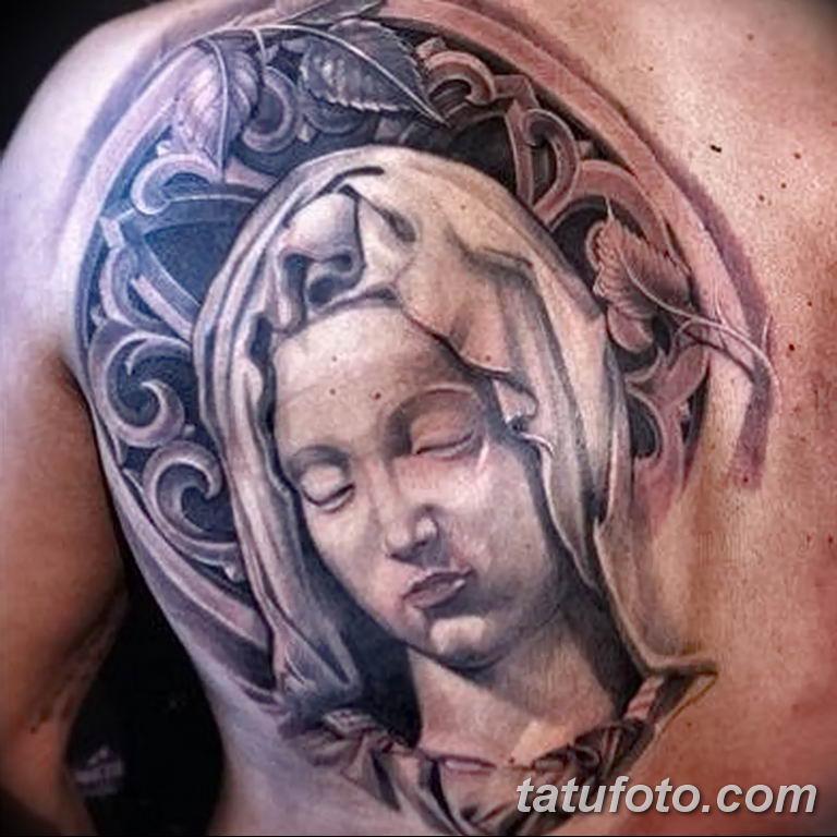 Фото тату икона святого 29.06.2019 №197 - tattoo icon of saint - tatufoto.com