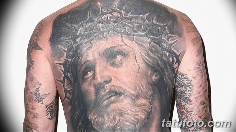 Фото тату икона святого 29.06.2019 №200 - tattoo icon of saint - tatufoto.com