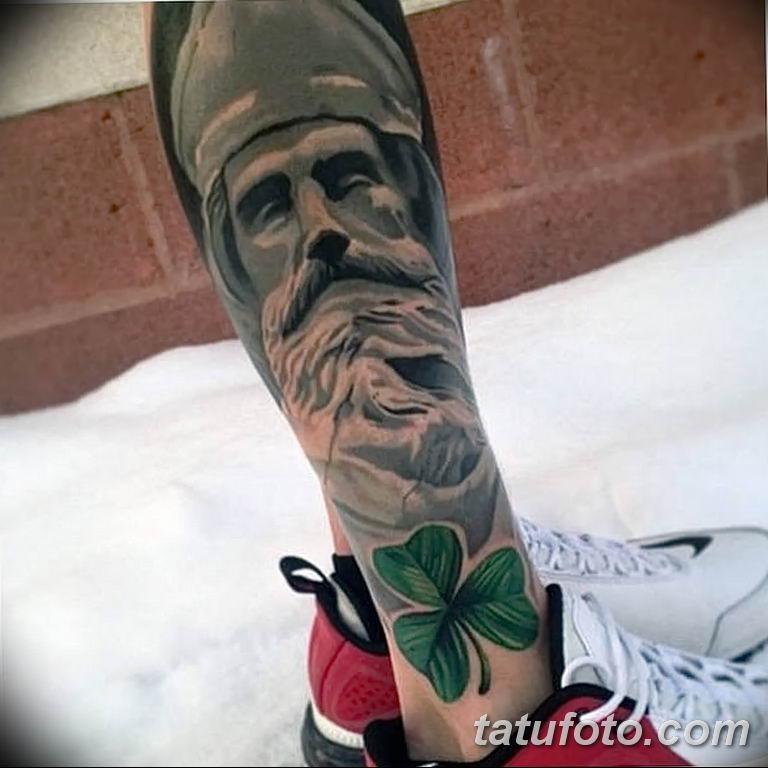 Фото тату икона святого 29.06.2019 №204 - tattoo icon of saint - tatufoto.com