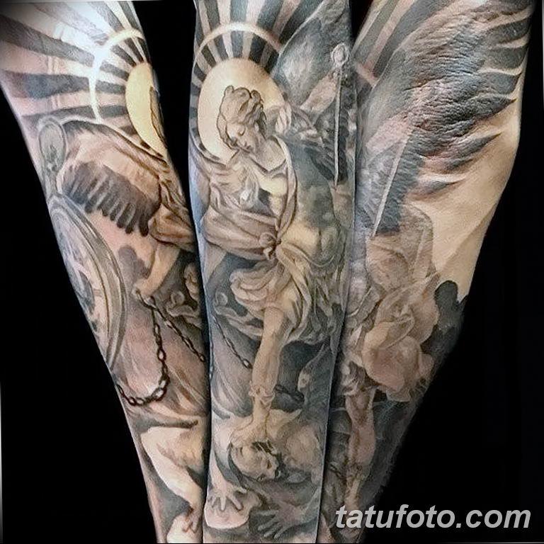 Фото тату икона святого 29.06.2019 №207 - tattoo icon of saint - tatufoto.com