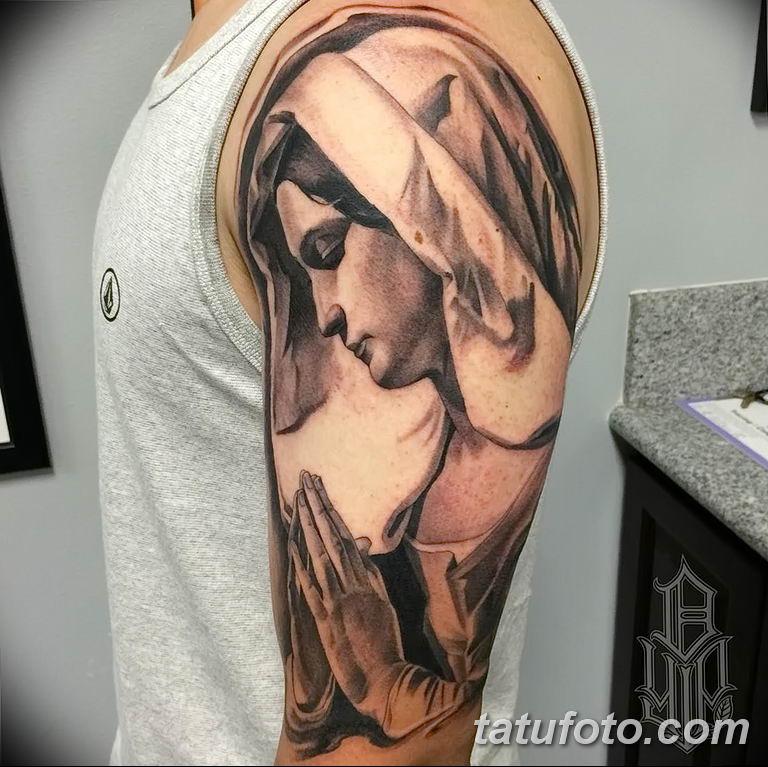 Фото тату икона святого 29.06.2019 №210 - tattoo icon of saint - tatufoto.com