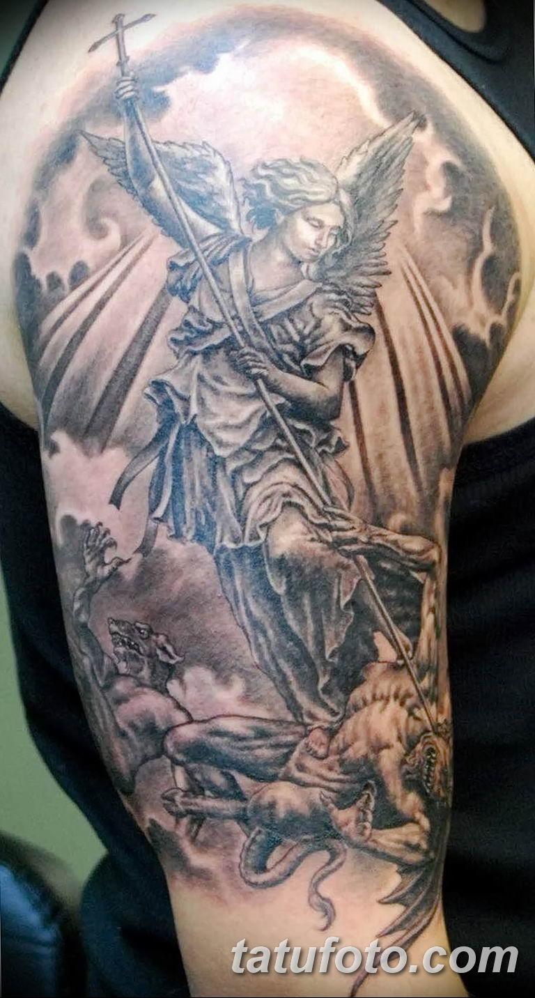 Фото тату икона святого 29.06.2019 №213 - tattoo icon of saint - tatufoto.com