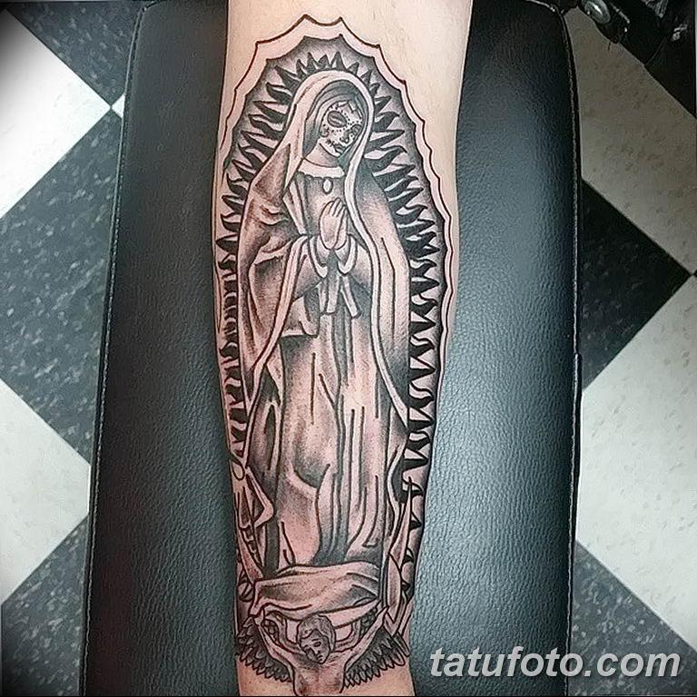 Фото тату икона святого 29.06.2019 №214 - tattoo icon of saint - tatufoto.com