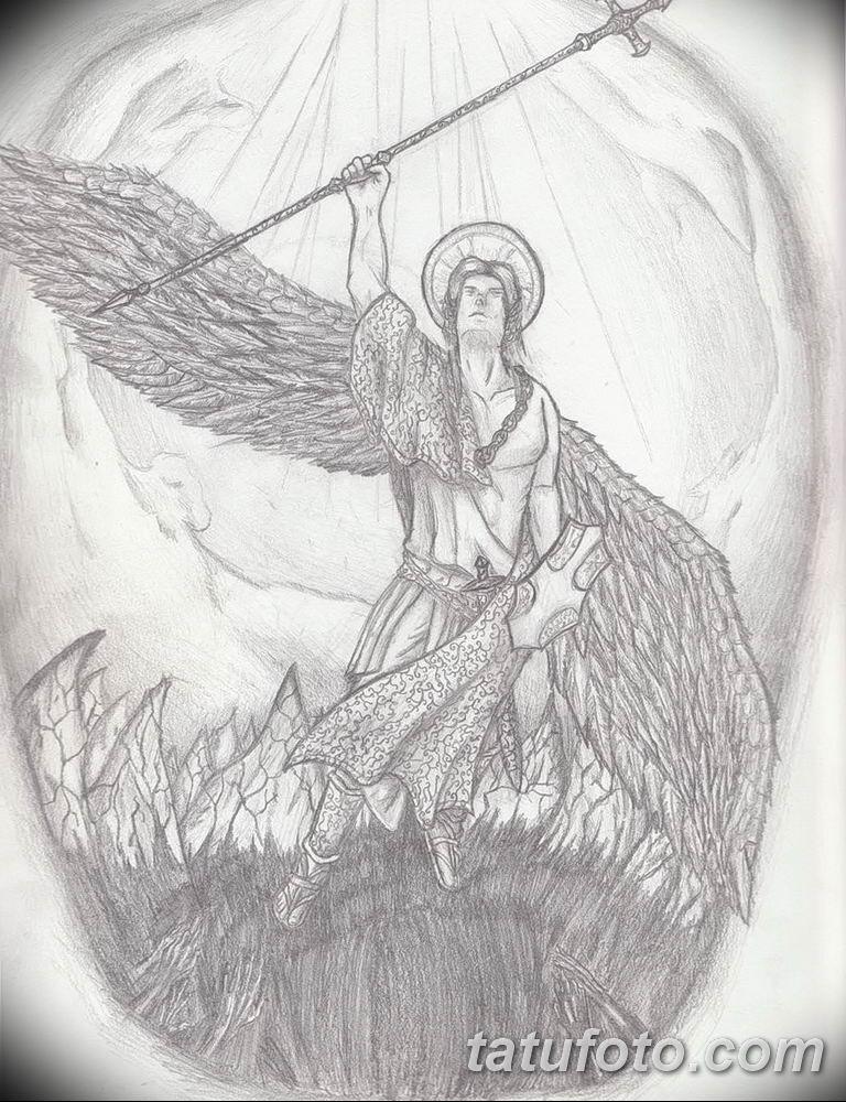 Фото тату икона святого 29.06.2019 №218 - tattoo icon of saint - tatufoto.com