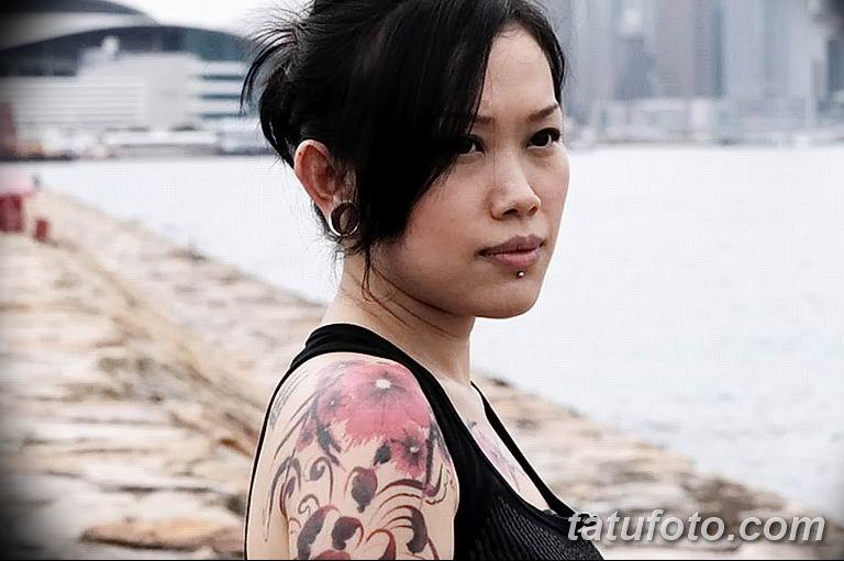 Фото тату мастер девушка 18.06.2019 №033 - tattoo master woman - tatufoto.com
