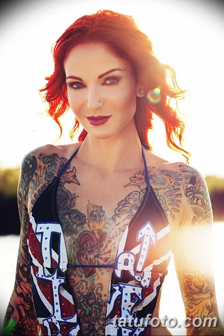 Фото тату мастер девушка 18.06.2019 №041 - tattoo master woman - tatufoto.com