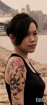 Фото тату мастер девушка 18.06.2019 №044 – tattoo master woman – tatufoto.com