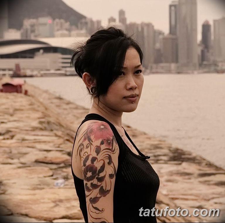Фото тату мастер девушка 18.06.2019 №044 - tattoo master woman - tatufoto.com
