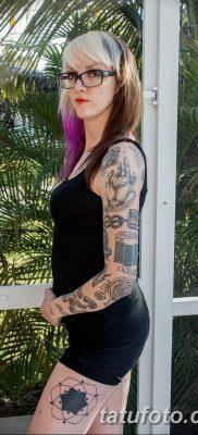 Фото тату мастер девушка 18.06.2019 №048 – tattoo master woman – tatufoto.com