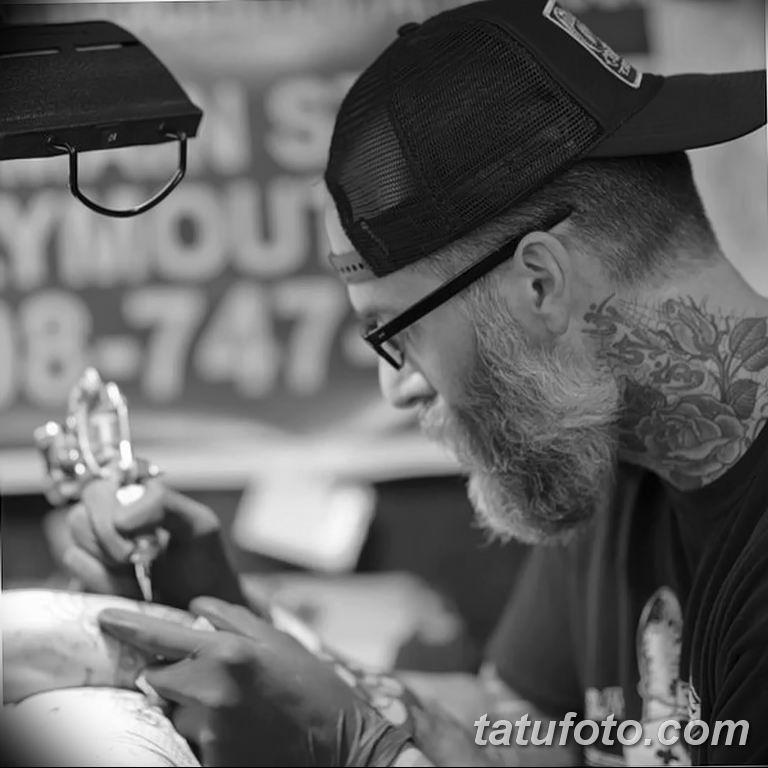 Фото тату мастер работа 18.06.2019 №012 - tattoo master - tatufoto.com