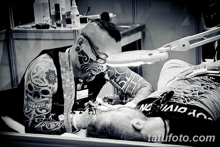 Фото тату мастер это профессия18.06.2019 №011 - tattoo master - tatufoto.com