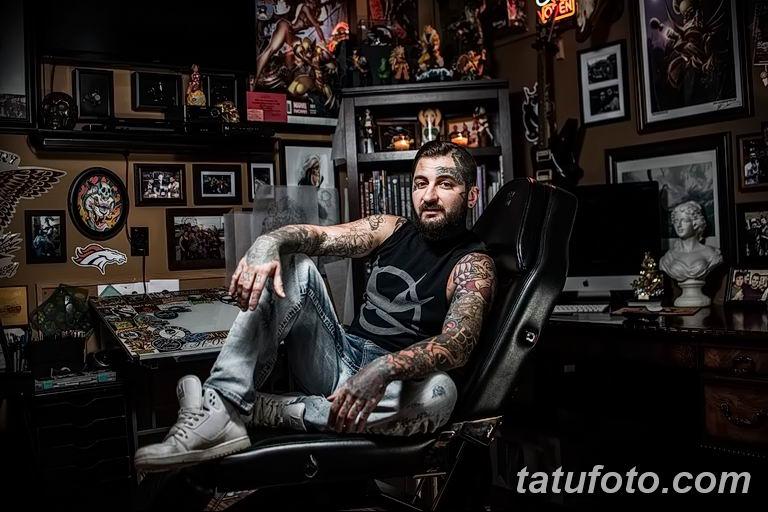 Фото тату мастер это профессия18.06.2019 №023 - tattoo master - tatufoto.com