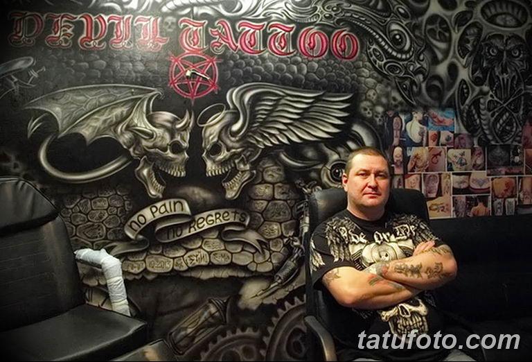 Фото тату мастер это профессия18.06.2019 №037 - tattoo master - tatufoto.com