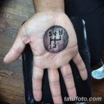Фото тату на ладони 11.06.2019 №025 - tattoo on the palm - tatufoto.com