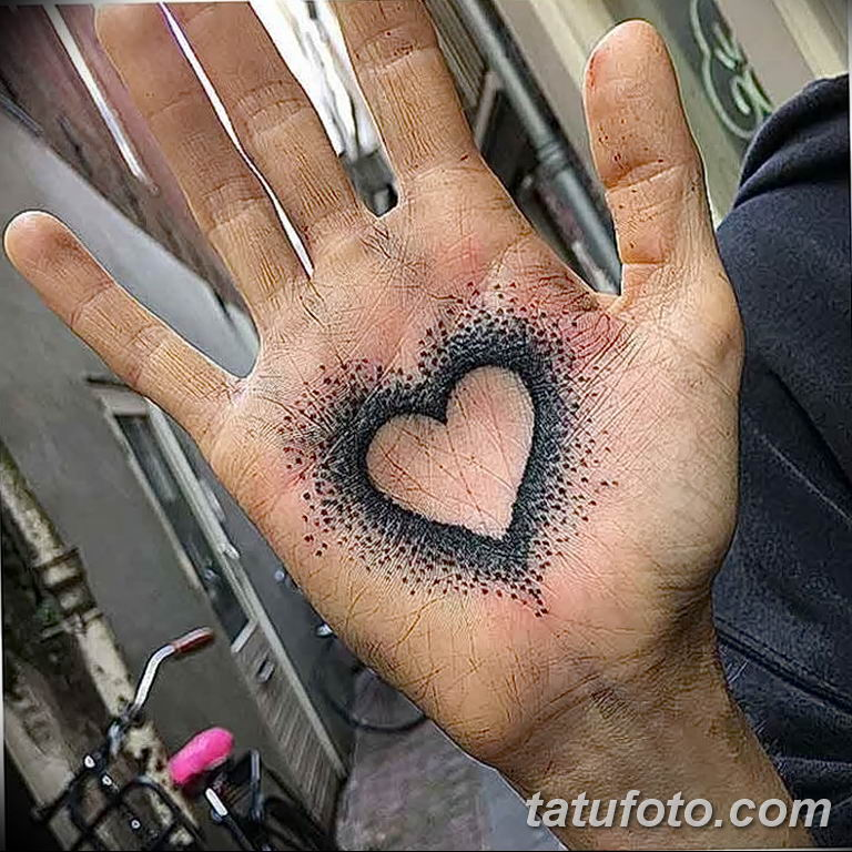 Фото тату на ладони 11.06.2019 №141 - tattoo on the palm - tatufoto.com