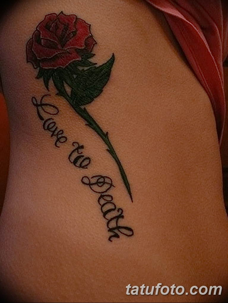 Фото тату роза с шипами 26.06.2019 №001 - spiked rose tattoo - tatufoto.com