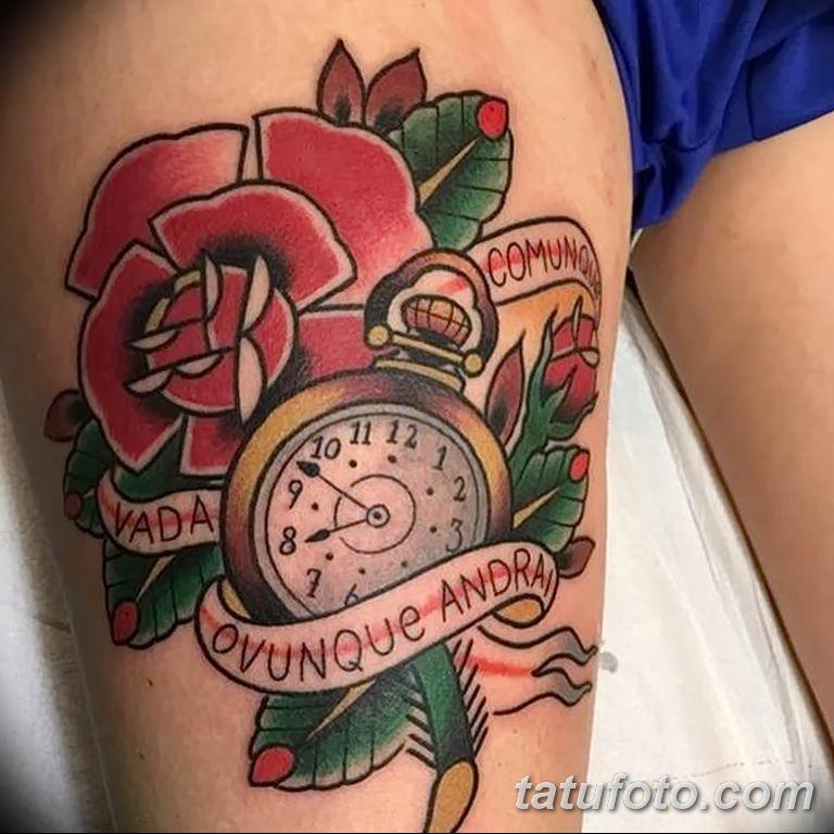 Фото тату роза с шипами 26.06.2019 №074 - spiked rose tattoo - tatufoto.com
