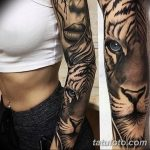Фото тату рукав 11.06.2019 №057 - Tattoo sleeve - tatufoto.com
