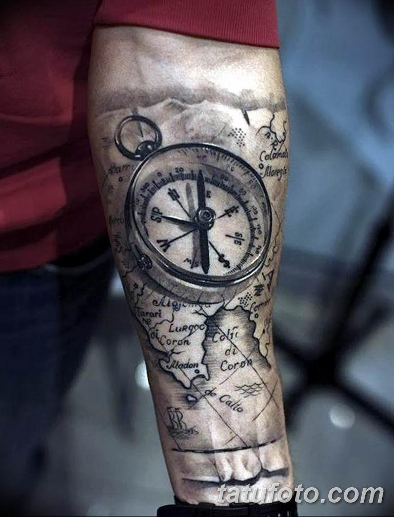 Фото тату рукав 11.06.2019 №170 - Tattoo sleeve - tatufoto.com