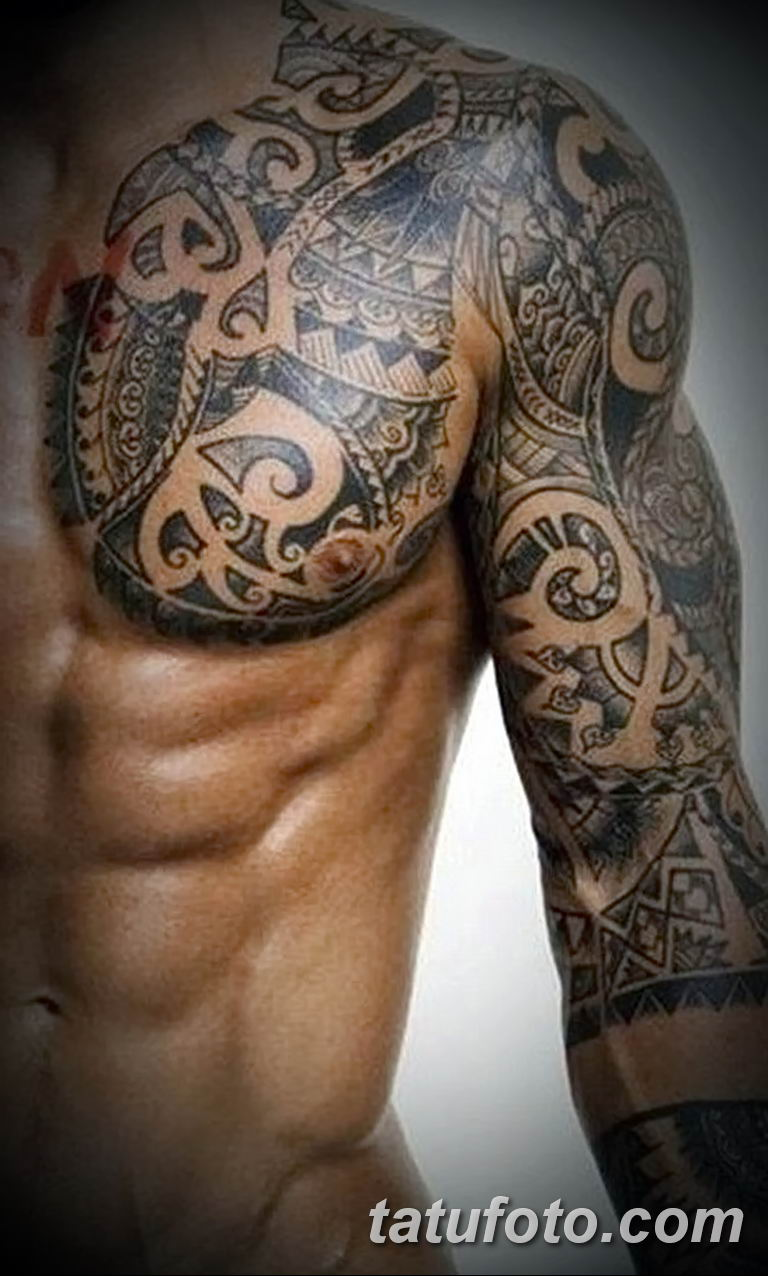 Фото тату рукав 11.06.2019 №182 - Tattoo sleeve - tatufoto.com