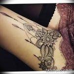 Фото тату чулки 05.06.2019 №031 - tattoo garter stockings - tatufoto.com