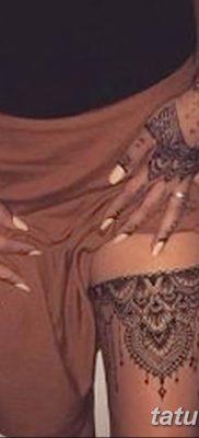 Фото тату чулки 05.06.2019 №039 – tattoo garter stockings – tatufoto.com