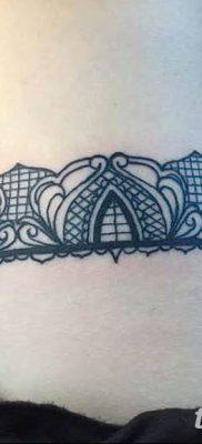 Фото тату чулки 05.06.2019 №063 – tattoo garter stockings – tatufoto.com