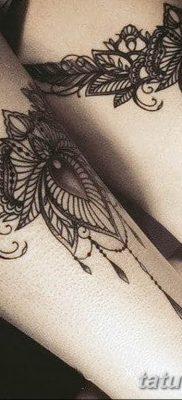 Фото тату чулки 05.06.2019 №076 – tattoo garter stockings – tatufoto.com