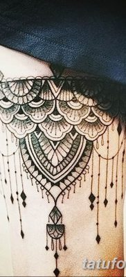 Фото тату чулки 05.06.2019 №086 – tattoo garter stockings – tatufoto.com