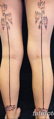 Фото тату чулки 05.06.2019 №088 – tattoo garter stockings – tatufoto.com
