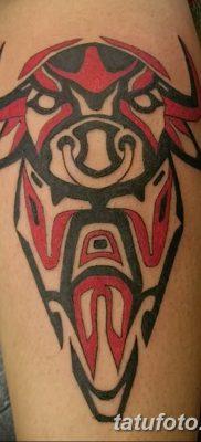 Фото черно красной тату 15.06.2019 №036 – black red tattoos photo – tatufoto.com
