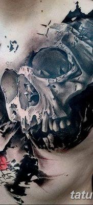 Фото черно красной тату 15.06.2019 №047 – black red tattoos photo – tatufoto.com