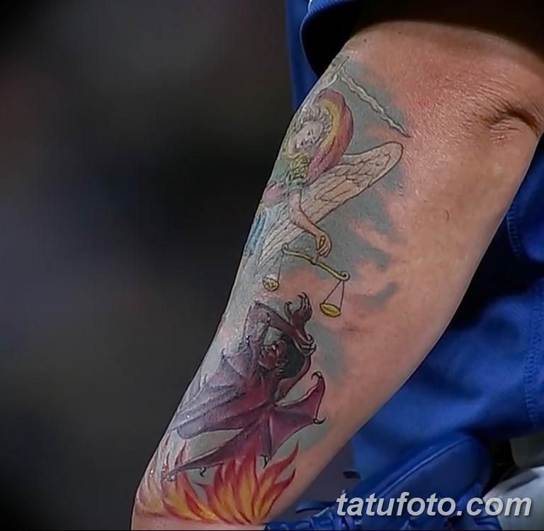 Бартоло Колон показал новую драматичную татуировку - фото 1