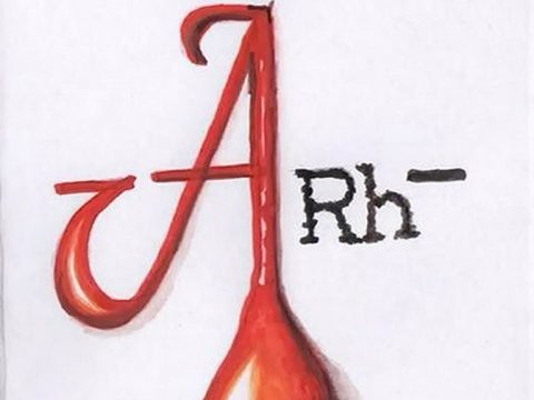 Фото Эскиз тату Группа крови 15.07.2019 №004 - Sketch tattoo blood type - tatufoto.com